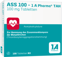 ASS 100-1A Pharma TAH Tabletten